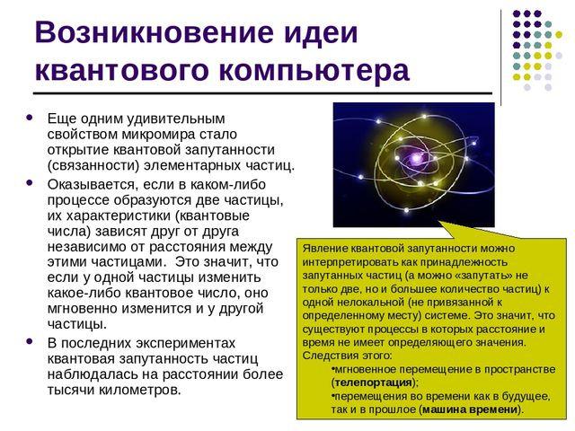квантовая запутанность