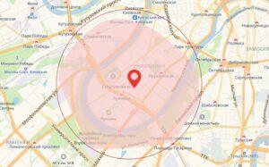 зона покрытия 5G в Москве Лужники
