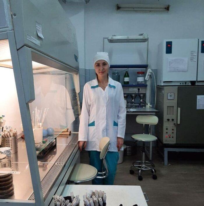 главный специалист бактериологической лаборатории