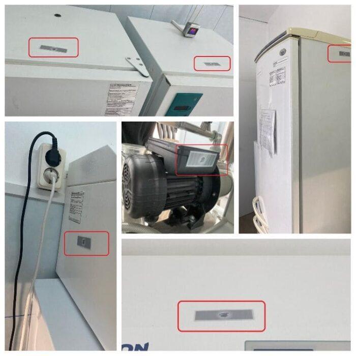 оборудование лаборатории экранировано защитными устройствами Экран-М
