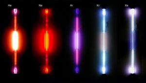 примеры квантовой физики в повседневной жизни - газоразрядные трубки