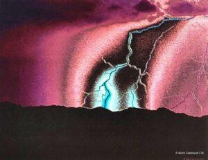 Микролептонная фотография молнии Савельев ГФ
