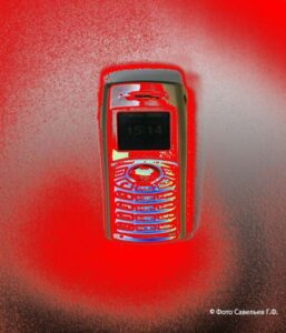Микролептонное излучение мобильного телефона